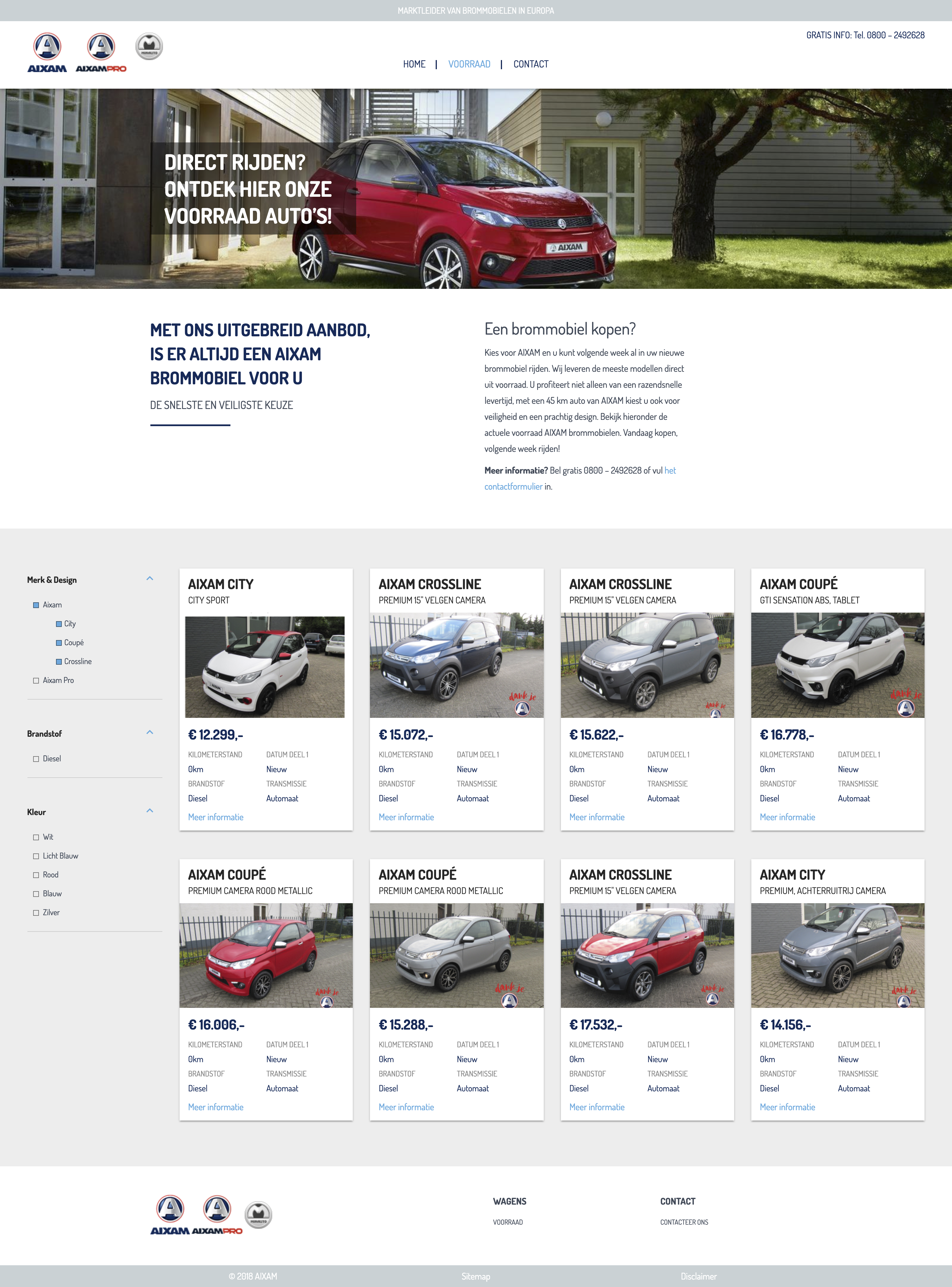 Aixam Homepage | Studio Ignaz Automotive