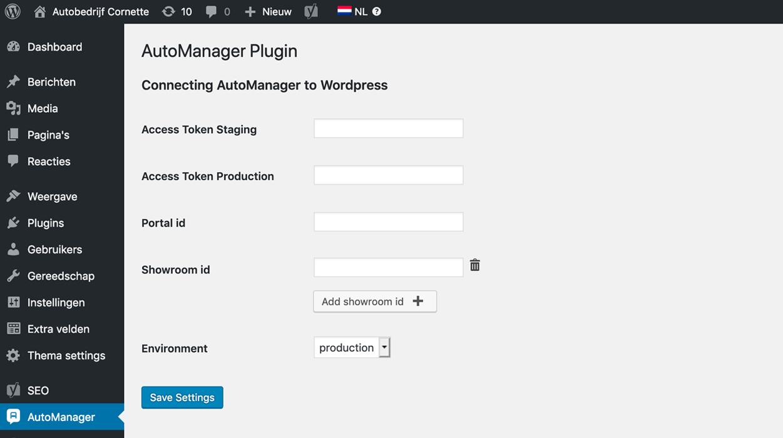 Wordpress voorraad koppeling | Studio Ignaz Automotive